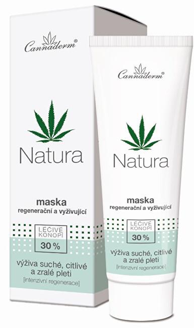 Zobrazit detail výrobku Cannaderm Regenerační a vyživujicí maska Natura 75 g