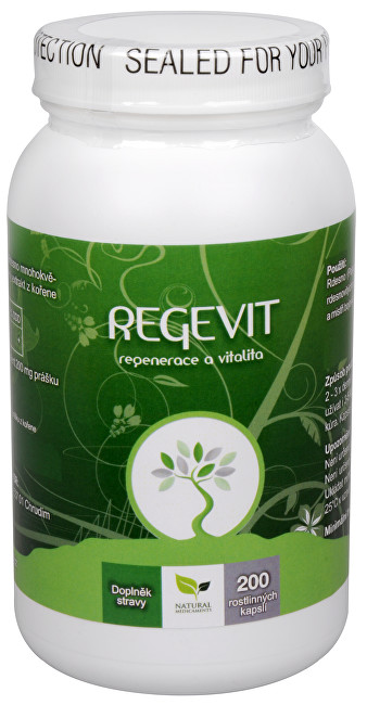 Natural Medicaments Regevit 200 tbl.