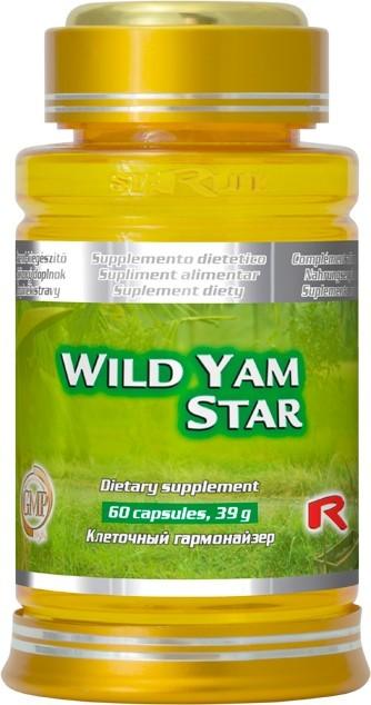 Zobrazit detail výrobku STARLIFE WILD YAM STAR 60 kapslí