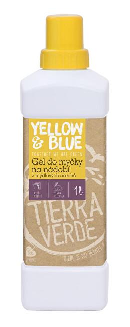 Zobrazit detail výrobku Yellow & Blue Gel do myčky na nádobí z mýdlových ořechů 1 l