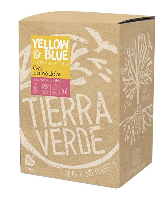 Zobrazit detail výrobku Yellow & Blue Gel na nádobí z mýdlových ořechů 5 l