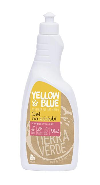 Zobrazit detail výrobku Yellow & Blue Gel na nádobí z mýdlových ořechů 750 ml