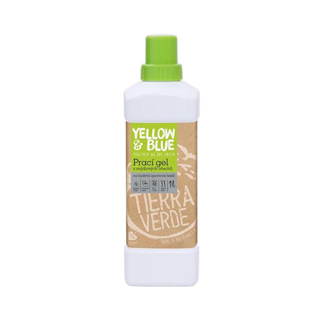 Zobrazit detail výrobku Yellow & Blue Prací gel z mýdlových ořechů na funkční prádlo s koloidním stříbrem 1 l