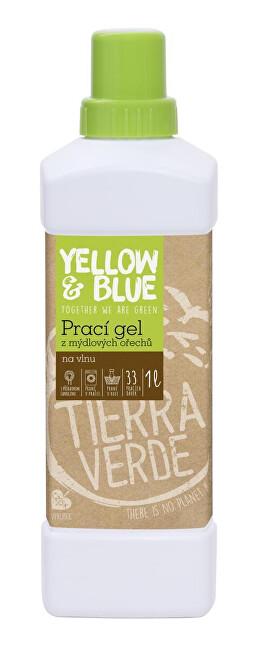 Zobrazit detail výrobku Yellow & Blue Prací gel z mýdlových ořechů na vlnu a jemné prádlo 1 l