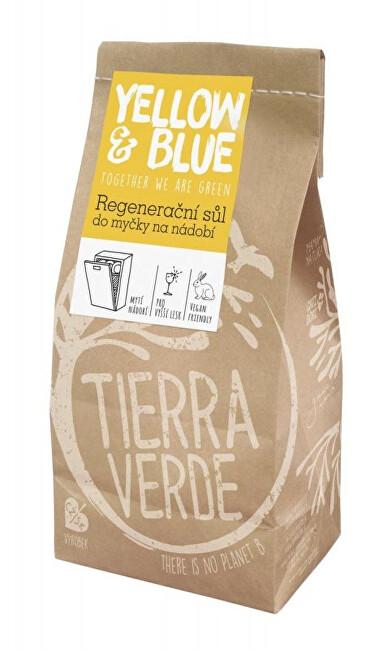 Zobrazit detail výrobku Yellow & Blue Regenerační sůl do myčky na nádobí papírový sáček 2 kg