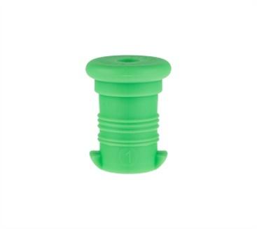 Zobrazit detail výrobku R&B Zdravá lahev Zátka Zelená fluo