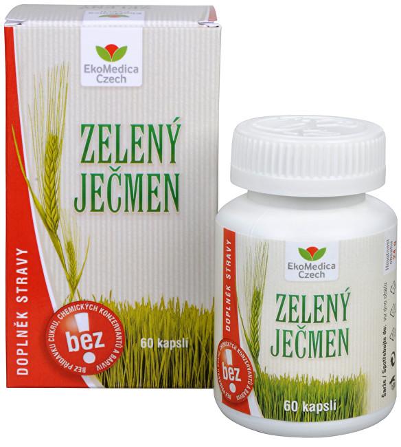 Zobrazit detail výrobku EkoMedica Czech Zelený ječmen 60 kapslí