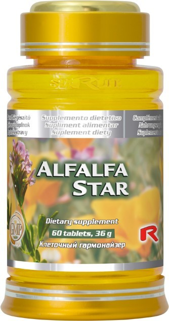Zobrazit detail výrobku STARLIFE ALFALFA STAR 60 kapslí