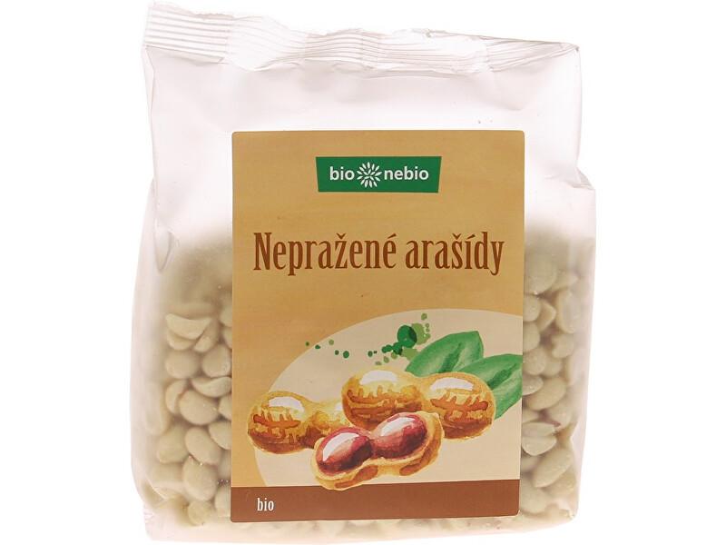 Zobrazit detail výrobku Bio nebio s. r. o. Bio arašídy loupané nepražené 200g