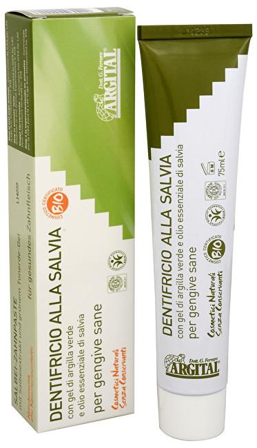 Zobrazit detail výrobku Argital zubní pasta se šalvějí a zeleným jílem 75 ml
