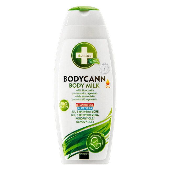 Zobrazit detail výrobku Annabis Bodycann přírodní tělové mléko 250 ml