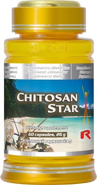 Zobrazit detail výrobku STARLIFE CHITOSAN STAR 60 kapslí