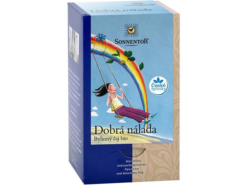 Zobrazit detail výrobku Sonnentor Bio Dobrá nálada - bylinný čaj 27g dvoukomorový (18sáčků)