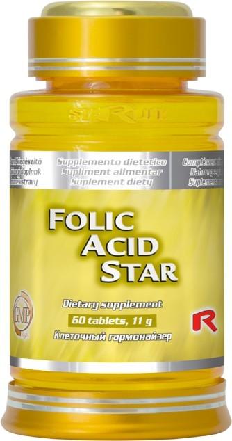 Zobrazit detail výrobku STARLIFE FOLIC ACID STAR 60 tbl.