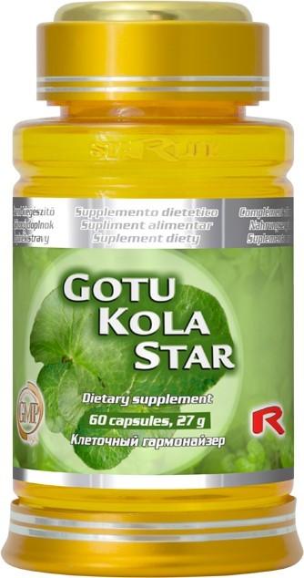 Zobrazit detail výrobku STARLIFE GOTU KOLA STAR 60 kapslí