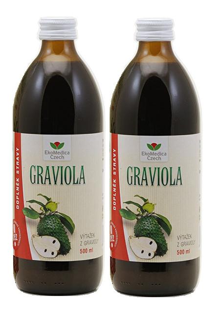 Graviola - výtažek z gravioly 500 ml + 500 ml