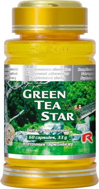 Zobrazit detail výrobku STARLIFE GREEN TEA STAR 60 kapslí
