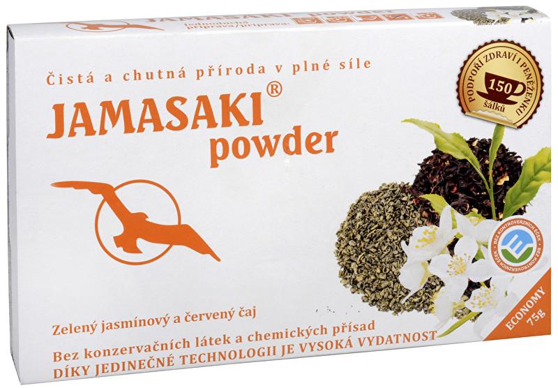 Jamasaki powder - zelený jasmínový a červený čaj 75 g