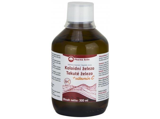 Zobrazit detail výrobku Pharma Activ Koloidní železo + vitamín C liquid 300 ml