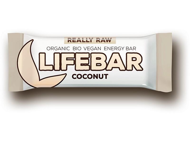 Zobrazit detail výrobku Lifefood Bio tyčinka Lifebar kokosová 47g
