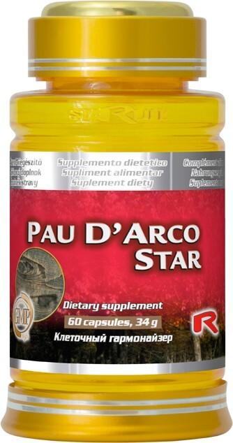 Zobrazit detail výrobku STARLIFE PAU D´ARCO STAR 60 kapslí