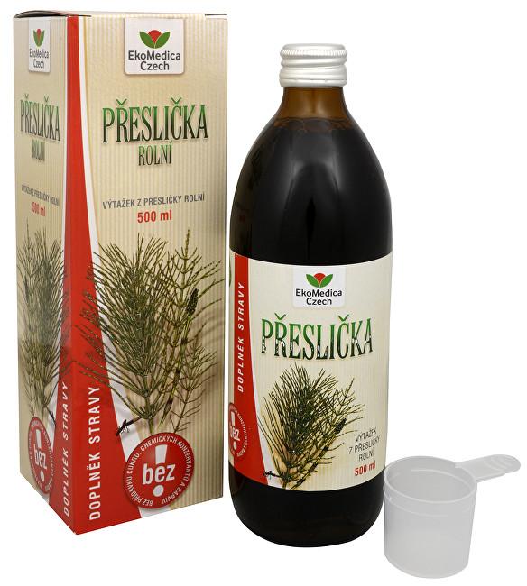 Zobrazit detail výrobku EkoMedica Czech Přeslička rolní - výtažek z přesličky 500 ml