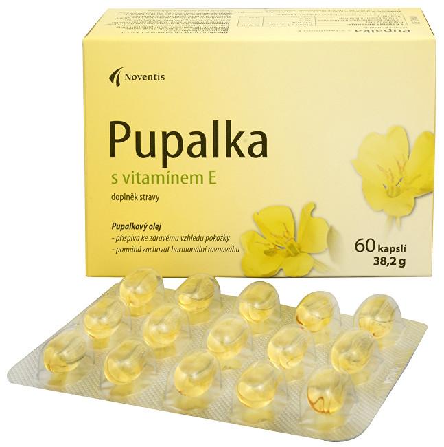 Zobrazit detail výrobku Noventis Pupalka s vitamínem E 60 kapslí