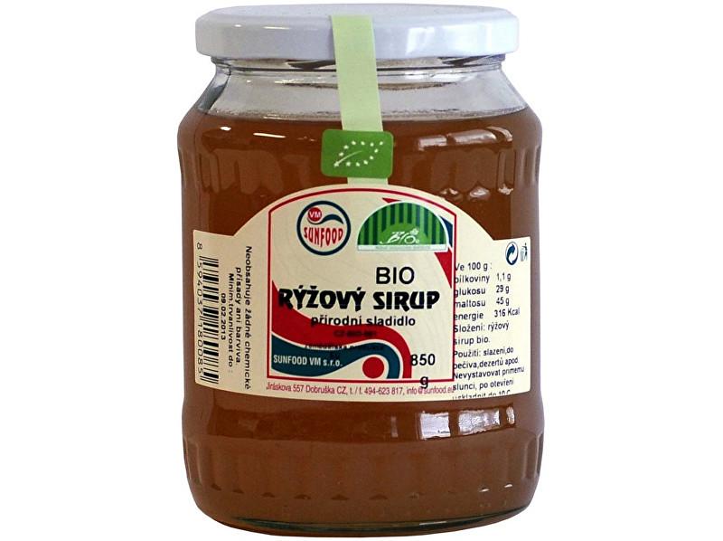 Sunfood Bio Ryžový sirup 62 850g