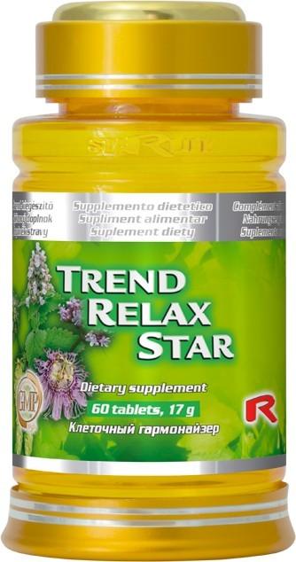 Zobrazit detail výrobku STARLIFE TREND RELAX STAR 60 tbl.