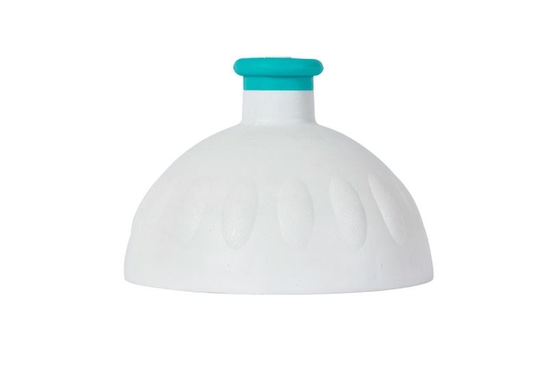Zobrazit detail výrobku R&B Zdravá lahev víčko/zátka Víčko bílé/zátka zelená tyrkys