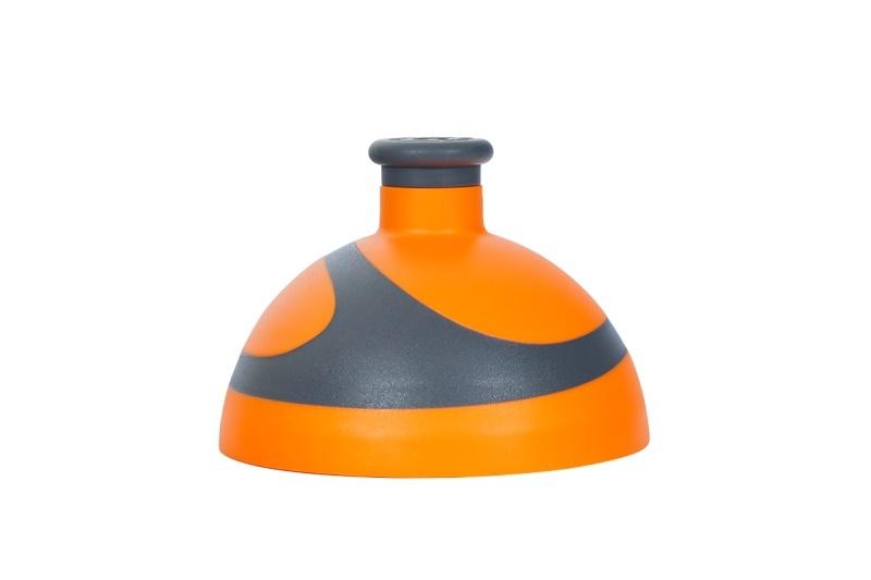 Zobrazit detail výrobku R&B Zdravá lahev víčko/zátka Víčko oranžové/antracit/zátka antracit