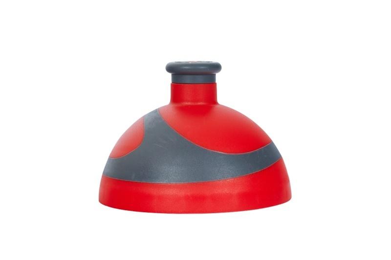 Zobrazit detail výrobku R&B Zdravá lahev víčko/zátka Víčko červené/antracit/zátka antracit