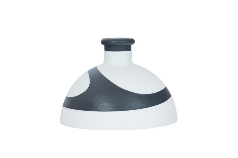Zobrazit detail výrobku R&B Zdravá lahev víčko/zátka Víčko bílé/antracit/zátka antracit