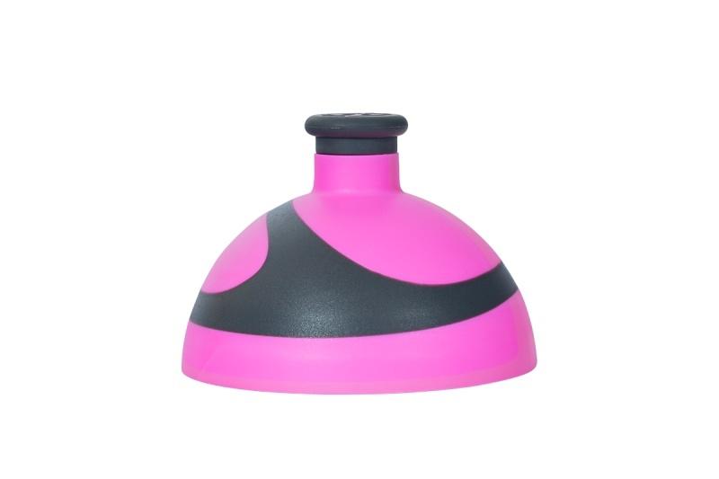 Zobrazit detail výrobku R&B Zdravá lahev víčko/zátka Víčko růžové/antracit/zátka antracit