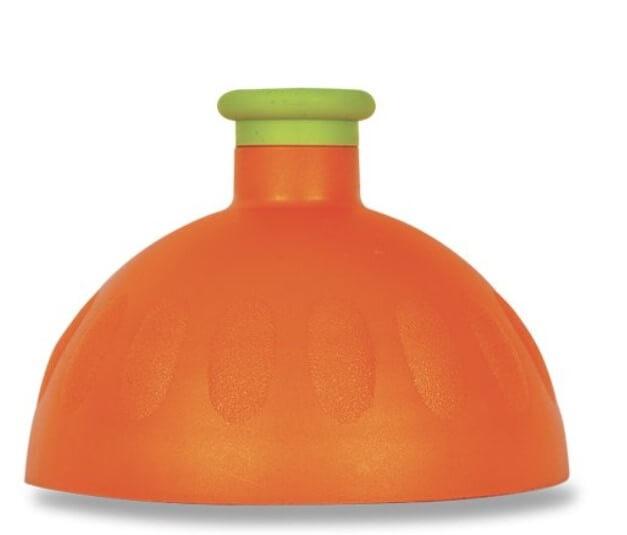 Zobrazit detail výrobku R&B Zdravá lahev víčko/zátka Víčko oranžové/zátka zelená tyrkys