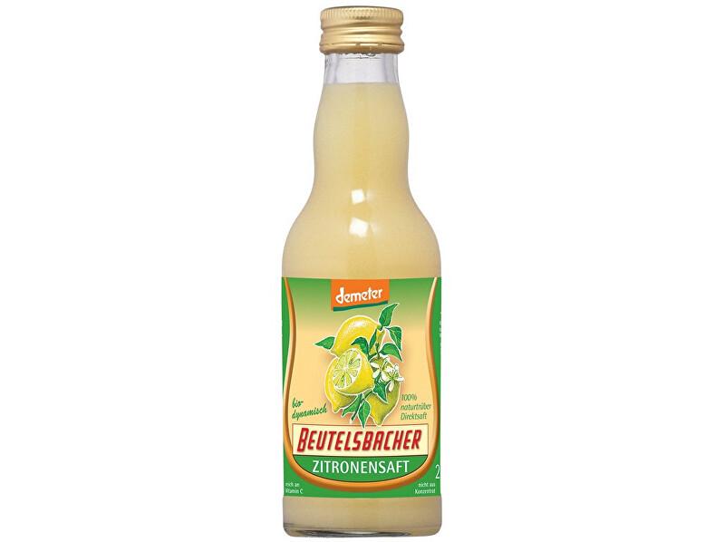 Zobrazit detail výrobku Beutelsbacher Bio Citronová šťáva 100% Beutelsbacher 0,2l