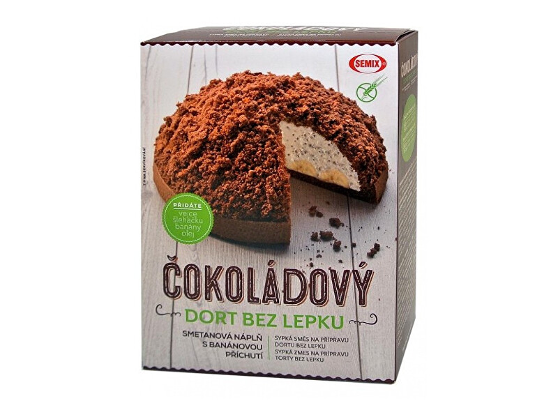 Čokoládový dort bez lepku+ náplň 430 g
