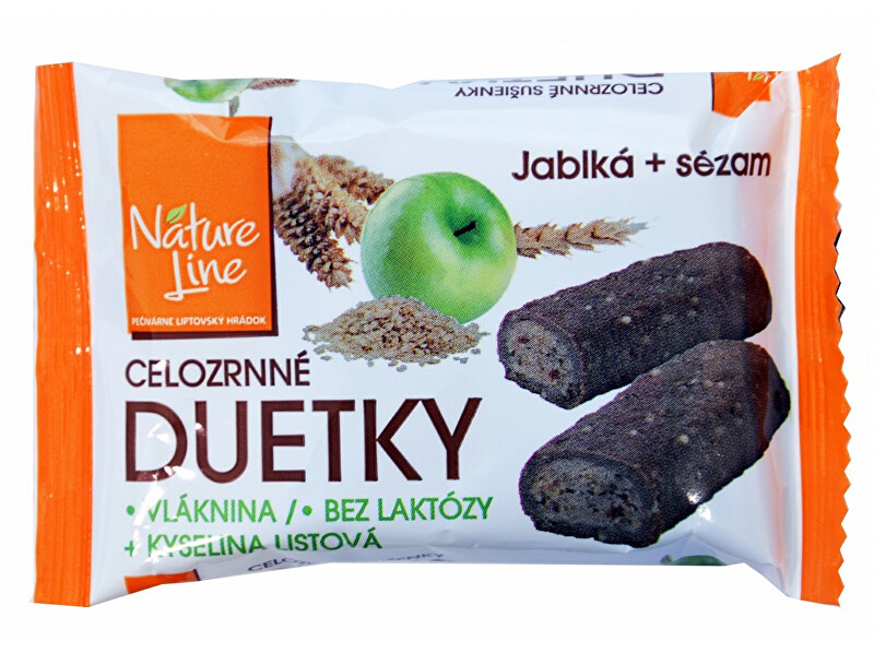 Zobrazit detail výrobku Nature Line Duetka sušenky celozrnné 50g