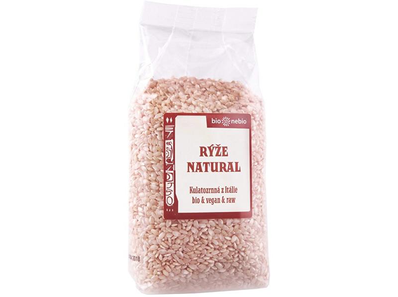 Zobrazit detail výrobku Bio nebio s. r. o. Bio Rýže kulatozrnná natural 500 g
