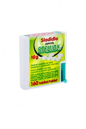 Stevia sladidlo tablety dávkovač 160tbl.