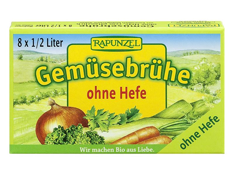 Zobrazit detail výrobku Rapunzel Bio Zeleninový vývar bez droždí v kostce 8 ks