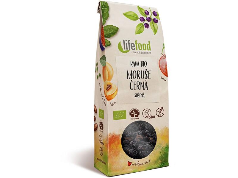 Lifefood Bio Moruše černá sušená 100g