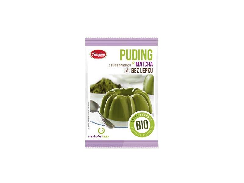 Zobrazit detail výrobku Amylon Bio puding Matcha ananas bez lepku 40 g