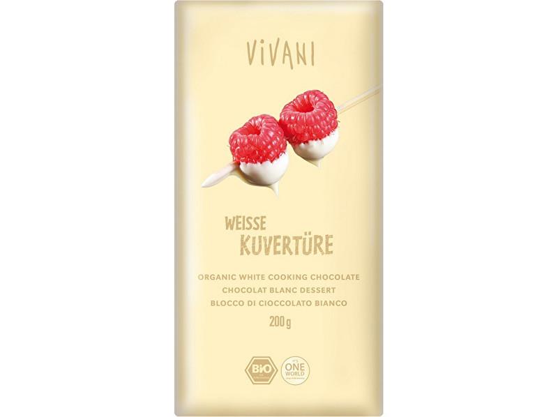Zobrazit detail výrobku VIVANI Bio Čokoláda na vaření bílá 200g