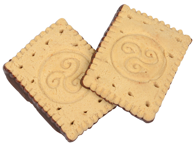 Express Diet - máslové sušenky s čokoládovou polevou 28 g