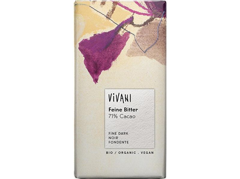 Zobrazit detail výrobku VIVANI Bio Hořká čokoláda 71% 100 g