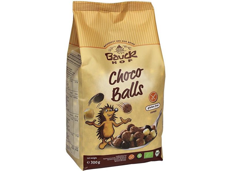 Zobrazit detail výrobku Bauck hof Bio Kuličky čokoládové bezlepkové 300g