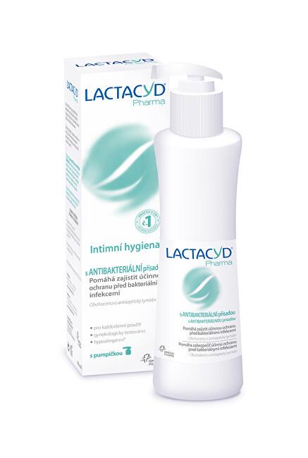 Zobrazit detail výrobku Omega Pharma Lactacyd Pharma s antibakteriální přísadou 250 ml