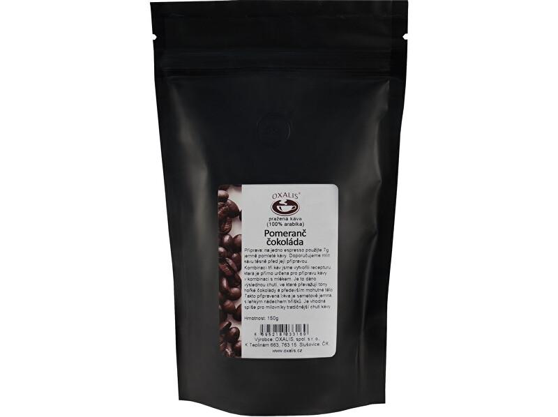 Zobrazit detail výrobku OXALIS Pomeranč - čokoláda 150 g - káva mletá