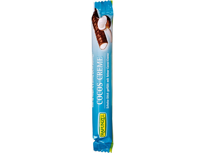 Rapunzel Bio čokoládová tyčinka kokosový krém 22g